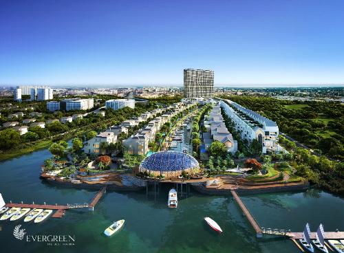 Vision Land phân phối dự án cao cấp Evergreen