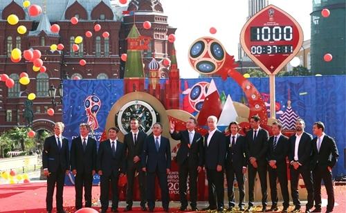 Hàng loạt công ty Trung Quốc trở thành nhà tài trợ cho World Cup lần này. Ảnh: Russian Business Today