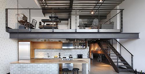 Căn hộ loft mang đến sự linh hoạt cho người dùng.