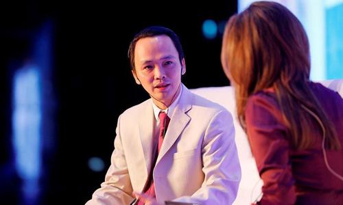 Ông Trịnh Văn Quyết - Chủ tịch HĐQT FLC. Ảnh: Bloomberg