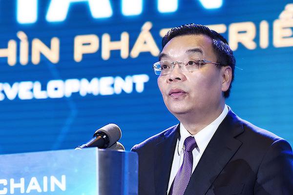Bộ trưởng Bộ Khoa học & Công nghệ Chu Ngọc Anh phát biểu bế mạc Diễn đàn.