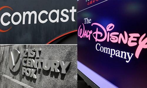 Cuộc chiến giành Fox giữa Comcast và Disney đã bắt đầu. Ảnh: CNN