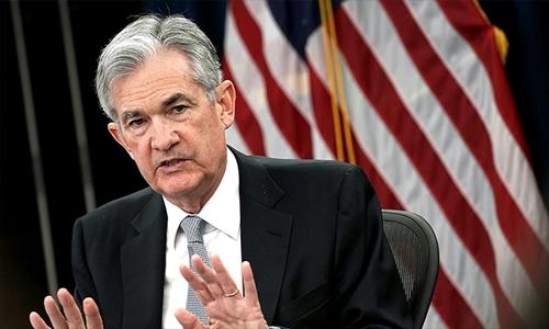 Chủ tịch Cục Dự trữ liên bang Mỹ (Fed) - Jerome Powell. Ảnh: AFP