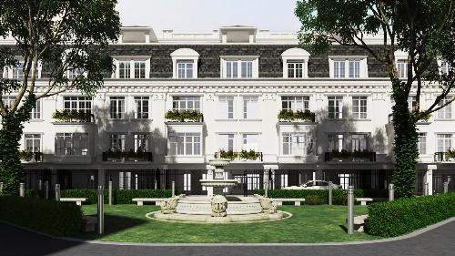 34 căn biệt thự cao cấp Porte de Ville ngay trung tâm Hà Nội