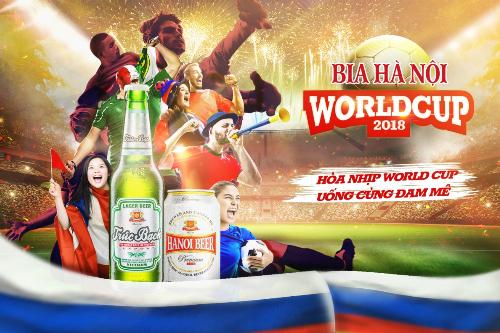 HÒA NHỊP WORLD CUP CÙNG BIA HÀ NỘI (xin bài edit)