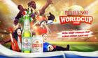 Bia Hà Nội tổ chức chiếu World Cup tại 15 nhà hàng