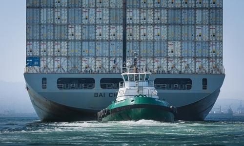 Hàng nhập khẩu của Trung Quốc sắp bị đánh thuế khi vào Mỹ. Ảnh: Bloomberg
