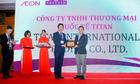 Titan nhận giải 'nhà cung cấp xuất sắc cho Aeon năm 2017'