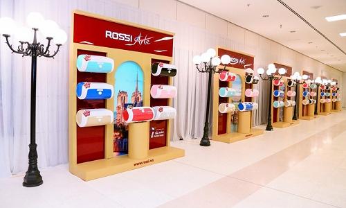Tân Á Đại Thành ra mắt bình nước nóng Rossi Arte 7 phiên bản màu