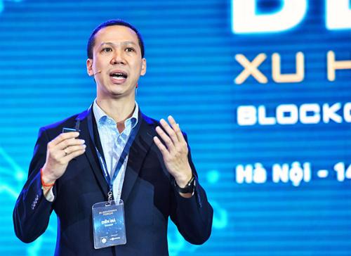 Giám đốc vùng của Infinity Blockchain Labs, ông Đỗ Văn Long kiến nghị