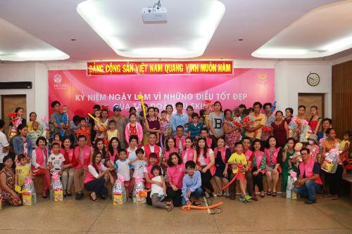Hoạt động thiện nguyện của Nu Skin hướng đến trẻ em bị tim bẩm sinh có hoàn cảnh khó khăn trên cả nước.