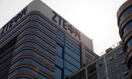 Tòa nhà của ZTE tại Bắc Kinh (Trung Quốc). Ảnh:Reuters