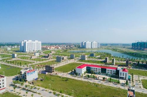 Hai hồ điều hòa diện tích 30ha trong lòng khu đô thị Thanh Hà Mường Thanh - 2