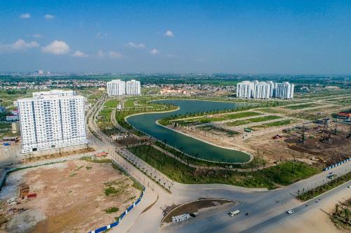 Hai hồ điều hòa diện tích 30ha trong lòng khu đô thị Thanh Hà Mường Thanh - 3