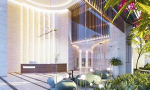 Khu tiện ích ứng dụng kiến trúc kính tại căn hộ Phú Mỹ Hưng