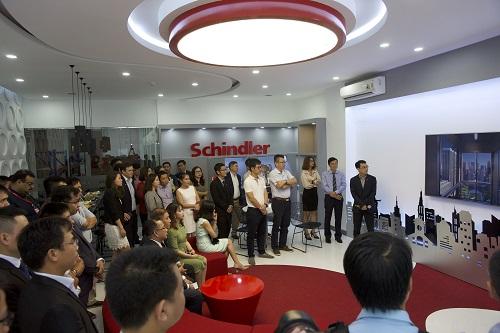Schindler Việt Nam giới thiệu dự án mới đến khách hàng
