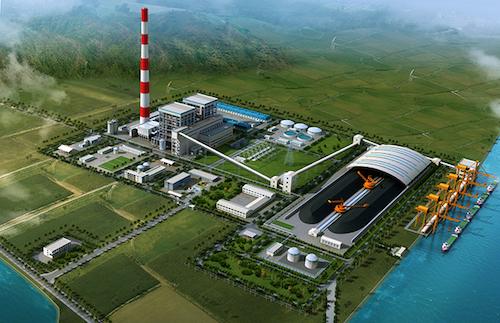 Phối cảnh dự án Nhiệt điện Quỳnh Lập (Nghệ An).