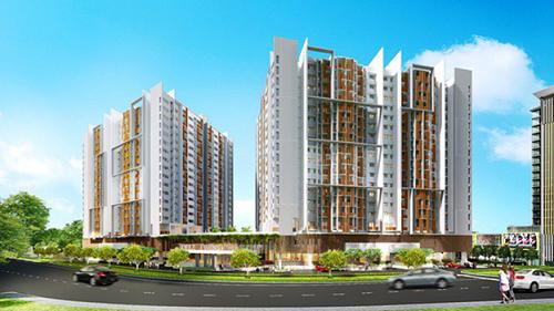 Nhu cầu của cư dân không dừng lại ở việc mua nơi ở mà còn là mua không gian, tiện ích nâng cao chất lượng sống. Ảnh: Phối cảnh dự án Topaz Twins tại Biên Hòa, Đồng Nai.