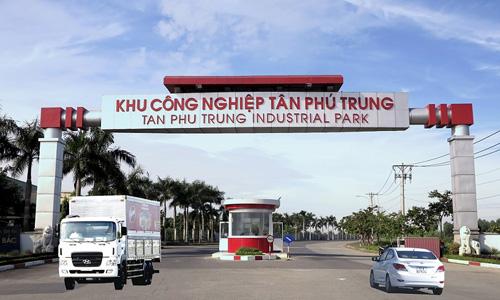 Khu công nghiệp Tân Phú Trung. Ảnh:Hepza.gov.vn