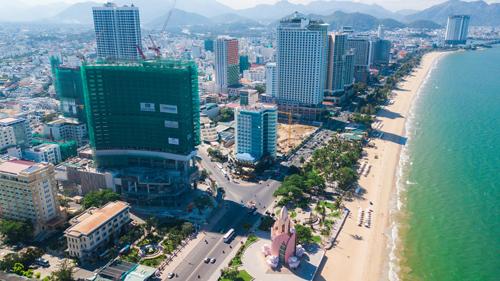 Dự án khách sạn Hyatt Regency Nha Trang đã xây dựng tới tầng 30. Hotline: 0932 150 691.Website