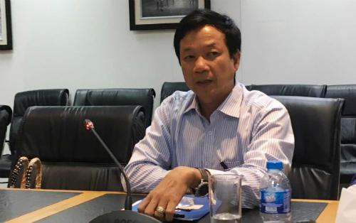 Tổng giám đốc Eximbank Lê Văn Quyết cho biếtthoả thuận tạm ứng này không ảnh hưởng đến tiến trình tố tụng của vụ án hình sự và vụ việc vẫn chờ kết quả của Toà. Ảnh: Lệ Chi.