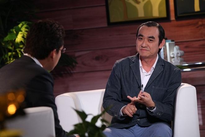 Ông Mã Thành Danh trong chương trình Café khởi nghiệp.