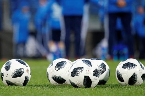 Bóng Adidas thi đấu chính thức tại World Cup 2018. Ảnh: Reuters.