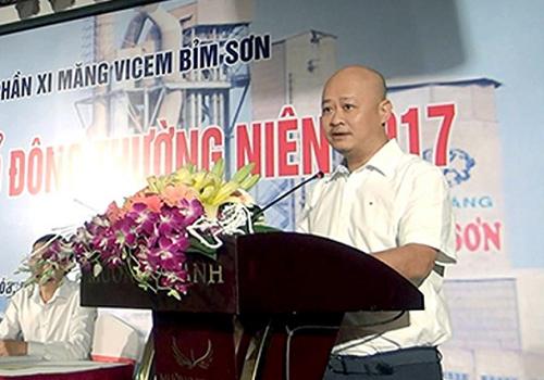 Ông Trần Việt Thắng,Ủy viên Ban chấp hành Đảng bộ Khối doanh nghiệp Trung ương, Phó Bí thư Đảng ủy Tổng công ty Công nghiệp Xi măng Việt Nam (Vicem).