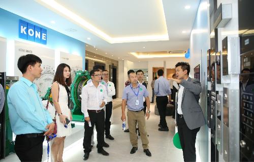 Trung tâm Đào tạo KONE trưng bày công nghệ tối ưu của giải pháp lưu chuyển con người Advance People Flow