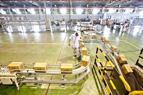 Dây chuyền sản xuất thịt chế biến của SNF.