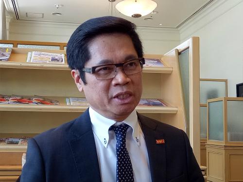 Ông Vũ Tiến Lộc - Chủ tịch VCCI. Ảnh: HT