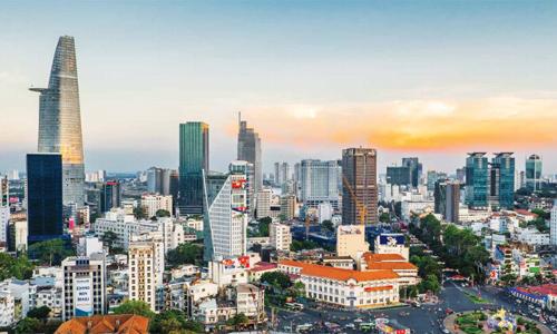 Nguồn vốn ngoại được kỳ vọng sẽ thúc đẩy thị trường bất động sản tại TP HCM. Ảnh: C.H
