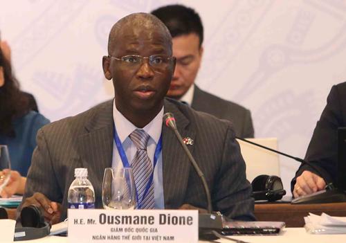 Ông Ousmane Dione - Giám đốc quốc gia Ngân hàng Thế giới tại Việt Nam