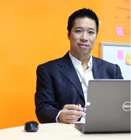 Ông John Le, người sáng lập và điều hành cổng thông giao dịch bất động sản Propzy.