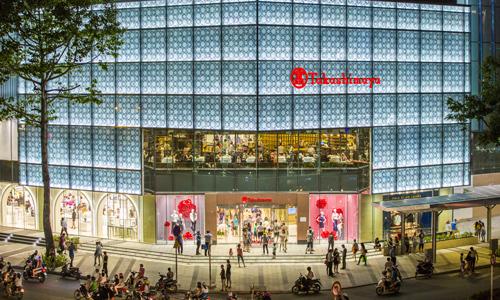 Một trung tâm thương mại lớn tại khu vực lõi trung tâm TP HCM. Ảnh: K.L