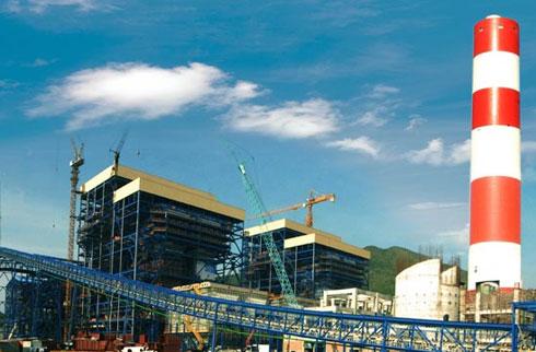 Hiện chủ đầu tư dự án Nhiệt điện Vũng Áng 2 (Hà Tĩnh) là doanh nghiệp đến từ Hong Kong (Trung Quốc). Ảnh phối cảnh dự án.