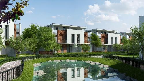 Đất nền biệt thự song lập tại dự án Eco Charm Premier Island thu hút nhà đầu tư.