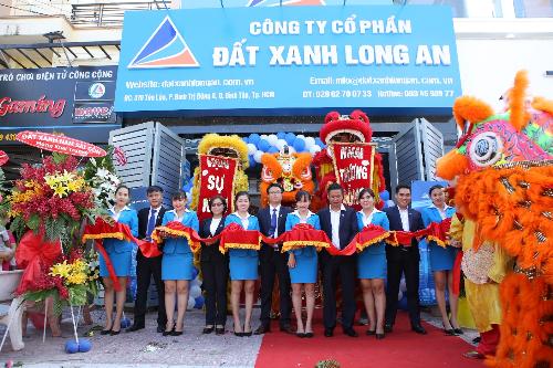 Tập đoàn Đất Xanh mở chi nhánh cho thị trường Long An