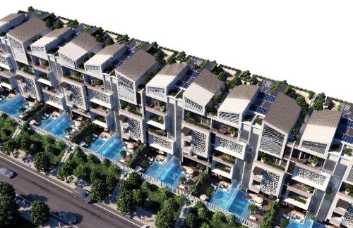Khu City Villas là một trong những dự án hạng sang nổi bật tại khu Nam Sài Gòn.