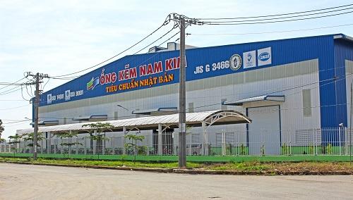 Nhà máy ống thép Nam Kim 4 tại Long An đã hoàn thành và đưa vào sản xuất.