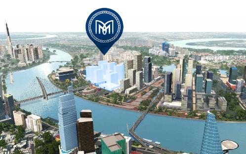 Phối cảnh vị trí dự án The Metropole Thủ Thiêm do Quốc Lộc Phát đầu tư, SonKim Land phát triển. Thông tin chi tiết tại đây. Hotline: 0905859988.
