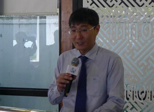Phó cục trưởng Cục thuế TP HCM Nguyễn Nam Bình.