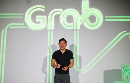 Ông Anthony Tan - CEO và Đồng sáng lập Grab trong buổi công bố chiến lược thành siêu ứng dụng. Ảnh: Viễn Thông