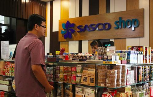 Cửa hàng miễn thuế của Sasco tại sân bay Tân Sơn Nhất. Ảnh: Phương Đông.