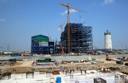 Dự án Nhiệt điện Thái Bình 2 đã đạt được 83% khối lượng công việc.