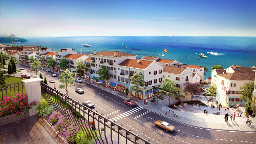 Shophouse phong cách Địa Trung Hải gây chú ý với nhà đầu tư