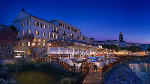 Shophouse phong cách Địa Trung Hải gây chú ý với nhà đầu tư - 1