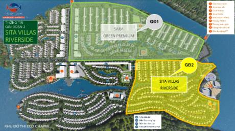 Gami Group tung ra khoảng 240 nền đất biệt thự của phân khu Sita Villas Riverside