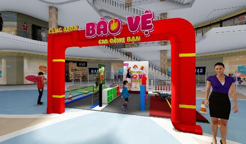 Chương trình được triển khai thí điểm từ ngày 20 đến 22/7 tại trung tâm mua sắm AEON Bình Tân và AEON Bình Dương với nhiều hoạt động thiết thực.
