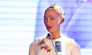 Robot công dân đầu tiên nói gì về 4.0 ở Việt Nam?
